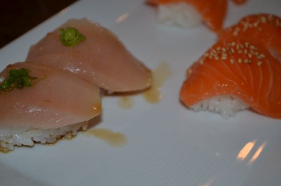 Albacore and Salmon Sushi