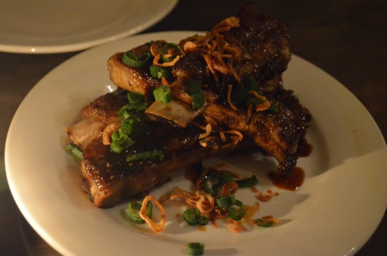 Vietnamese spareribs at The Spice Table