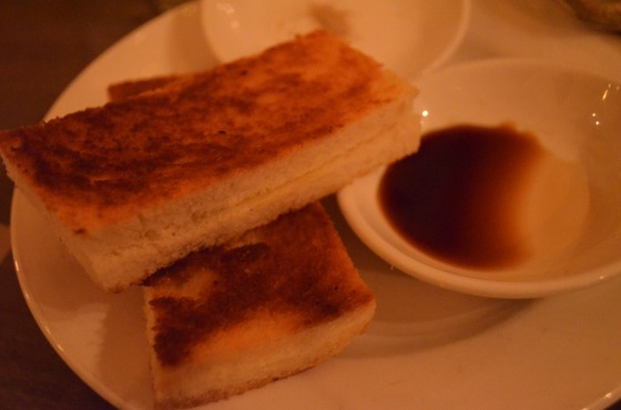 Kaya toast at The Spice Table