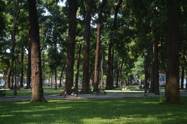 Greenery: Công viên 30-4