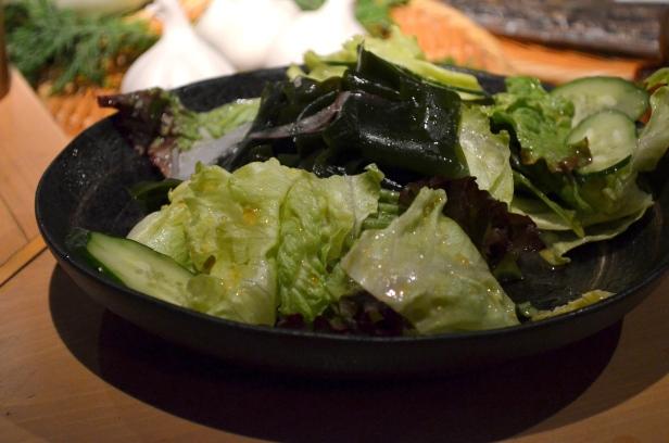 House of Haos Robataya Tokyo Japan Seaweed Salad