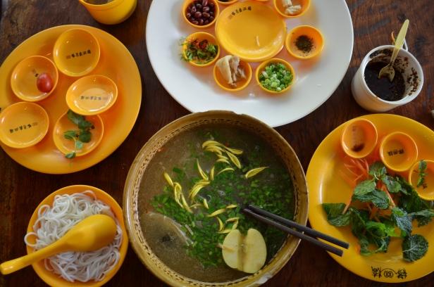 House of Haos Xishuangbanna Yunnan Bridge Crossing Noodles 2