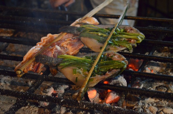 House of Haos Xishuangbanna Yunnan BBQ grilled fish sweet grass 2