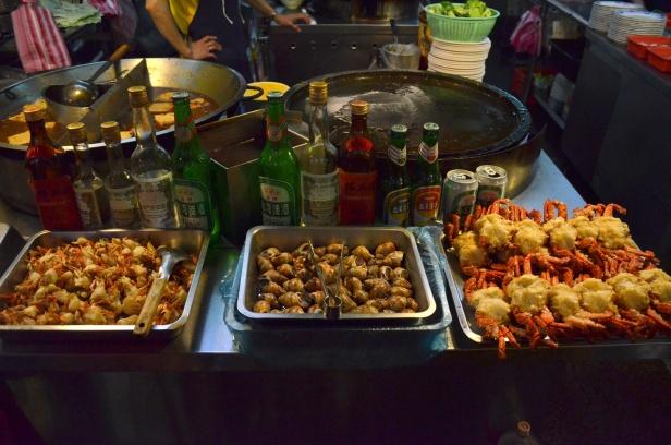 House of Haos Shilin Night Market Taipei Taiwan Crab