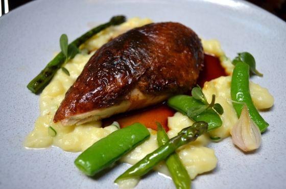 House of Haos Nomad roast chicken truffled potato puree