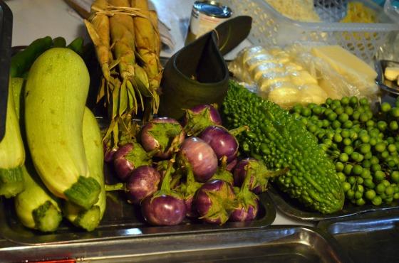 House of Haos Xishuangbanna Yunnan vegetables