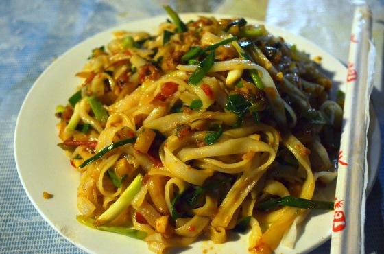 House of Haos Xishuangbanna Yunnan stir-fried rice noodles