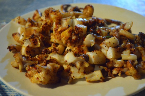 House of Haos Xishuangbanna Yunnan BBQ grilled squid