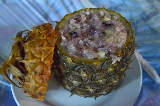 House of Haos Xishuangbanna Yunnan pineapple sticky rice
