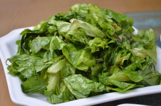 House of Haos Kunming Yunnan Haobao Organic Farm Salad