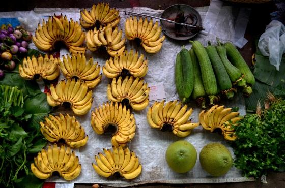 House of Haos Xishuangbanna Menghai Aini Village Market Bananas
