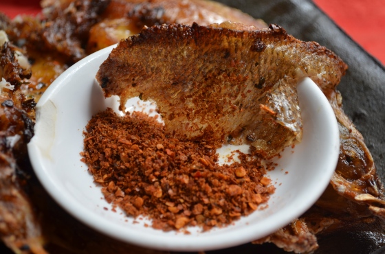 House of Haos Yi Ke Yin Kunming Yunnan Fish Skin Chili Salt
