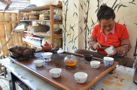 House of Haos Yunnan Puer Tea Hike Tea Tasting 1