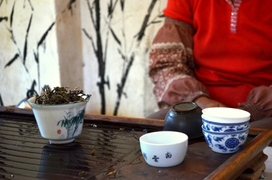 House of Haos Yunnan Puer Tea Hike Tea Tasting 3