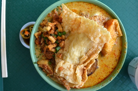 House of Haos Hong Lim Food Court Singapore Cantonese Delights Tofu Curry Laksa Pork Fat
