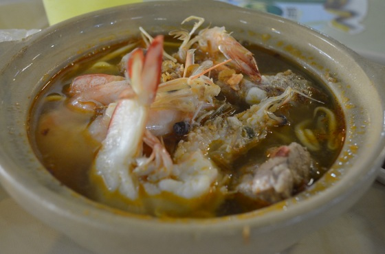 House of Haos Lavendar Food Court Singapore Pork Ribs Prawn Noodles