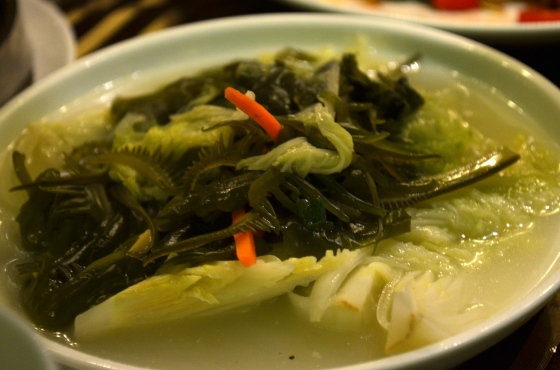 House of Haos Lee House Wan Chai Hong Kong Dim Sum Bok Choy Seaweed
