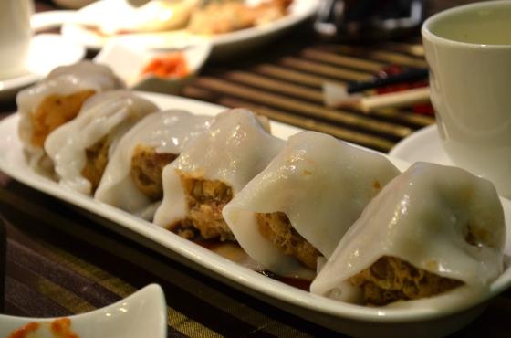 House of Haos Lee House Wan Chai Hong Kong Dim Sum Crispy Rice Roll 2