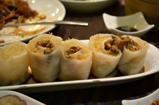 House of Haos Lee House Wan Chai Hong Kong Dim Sum Crispy Rice Roll
