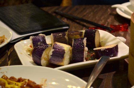 House of Haos Lee House Wan Chai Hong Kong Dim Sum Fried Eggplant