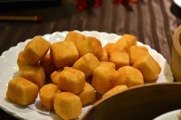 House of Haos Lee House Wan Chai Hong Kong Dim Sum Fried Tofu