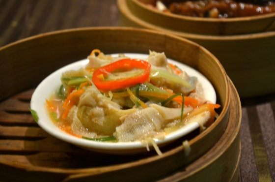 House of Haos Lee House Wan Chai Hong Kong Dim Sum Tripe Chilis
