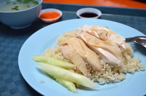 House of Haos Maxwell Food Centre Singapore Ah Tai Hainanese Chicken