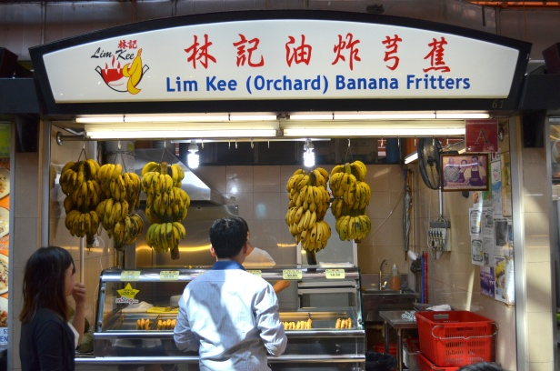 House of Haos Maxwell Food Centre Singapore Lim Kee Banana Fritters
