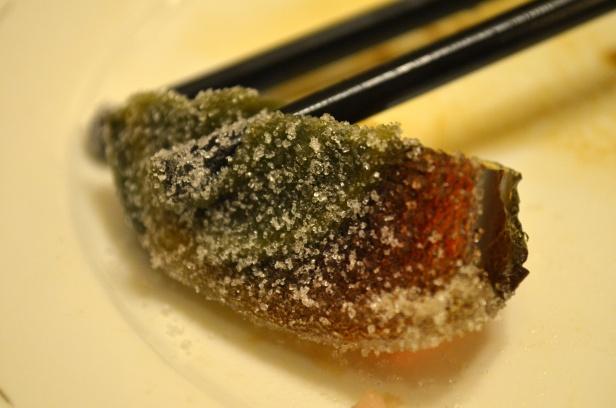 House of Haos Paradise of King Asia Seafood Hot Pot Century Egg