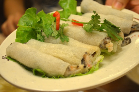 House of Haos Paradise of King Asia Seafood Hot Pot Stuffed Bamboo