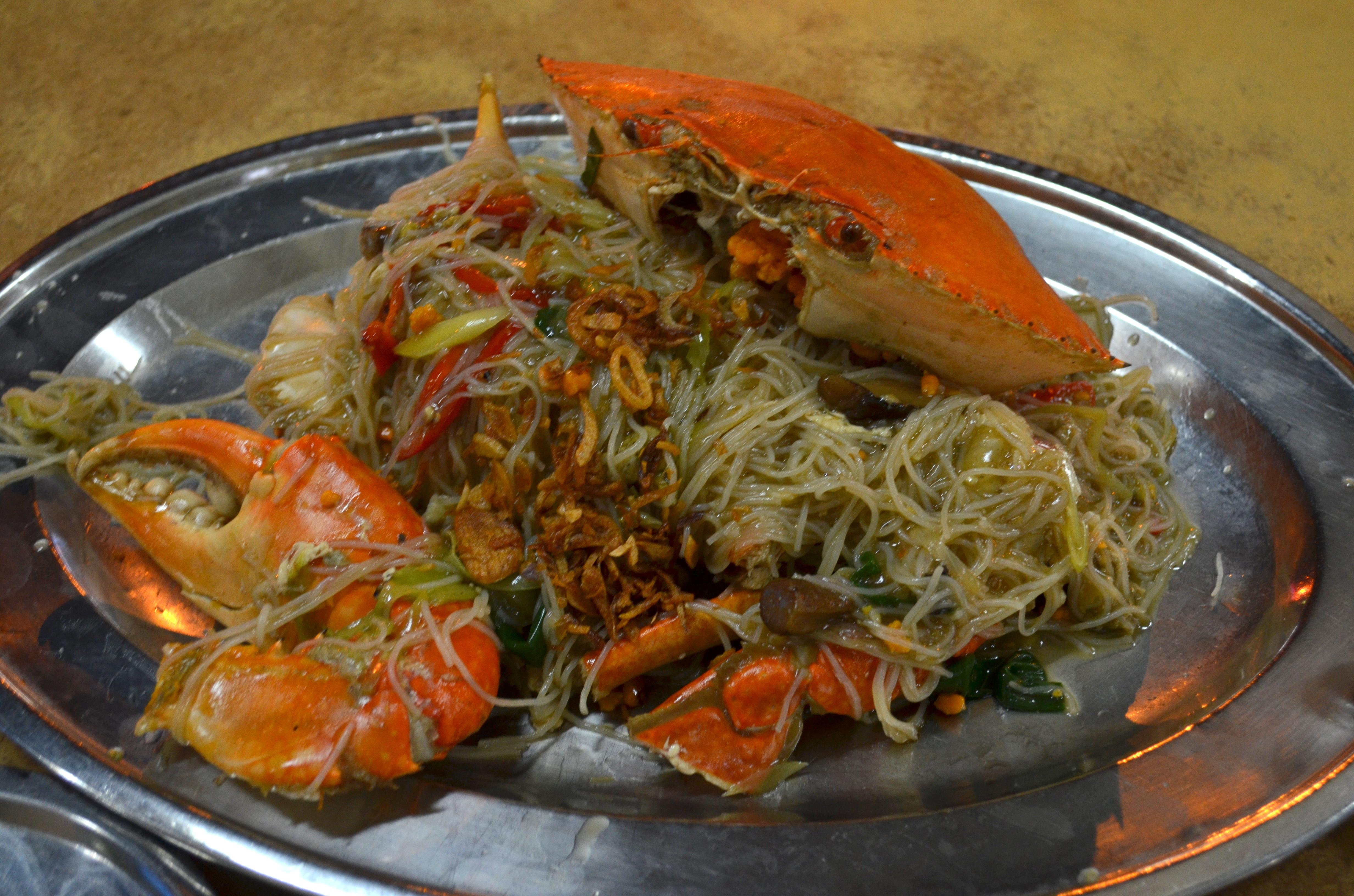 ... crab bee hoon a delightful crab bee hoon crab bee hoon $ 38 crab bee