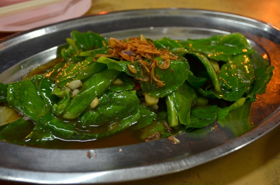House of Haos Sin Huat Eating House Geylang Road Singapore Sauteed Gailan