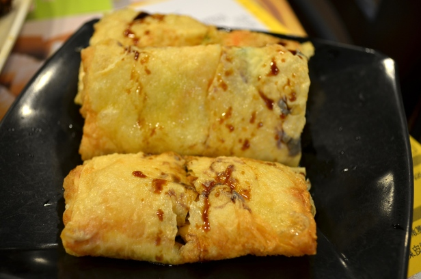 House of Haos Tim Ho Wan Hong Kong Cha Shao Fried Tofu Skin Rolls