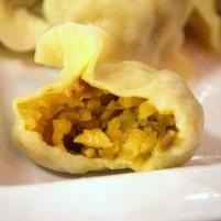 Pickled daikon dumpling