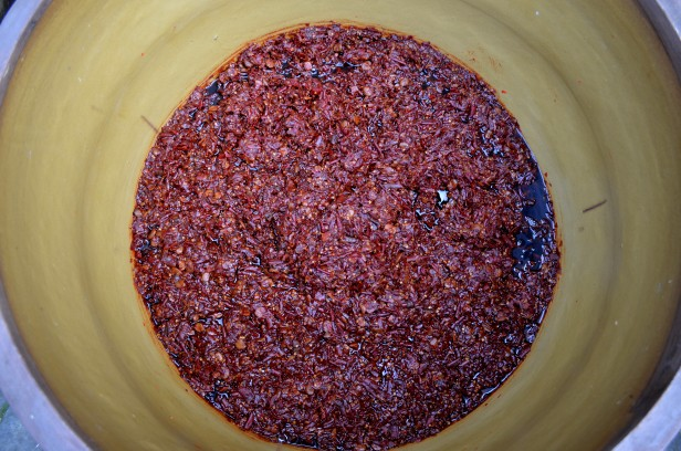 House of Haos Chengdu Sichuan China Food History Museum Doubanjiang Fermented Chili Bean Paste 2