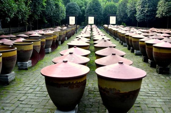House of Haos Chengdu Sichuan China Food History Museum Fermentation Jars