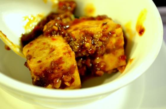 House of Haos Chengdu Sichuan China Food History Museum Mapo Tofu 2