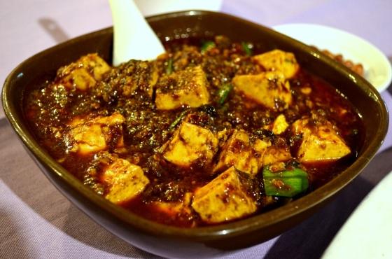 House of Haos Chengdu Sichuan China Food History Museum Mapo Tofu