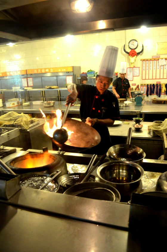 House of Haos Chengdu Sichuan China Food History Museum Stir-frying Wok