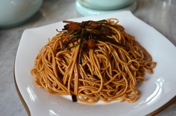 House of Haos Da Ke Tang Shanghai China Scallion Noodles