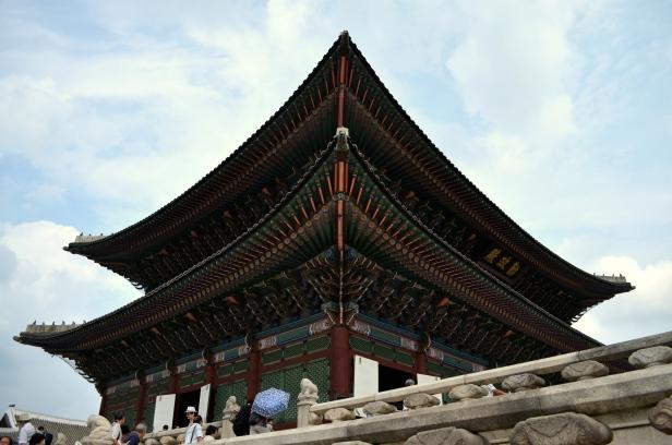 House of Haos Geunjeongjeon Gyeongbokgung Palace Seoul Korea 2