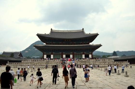 House of Haos Geunjeongjeon Gyeongbokgung Palace Seoul Korea