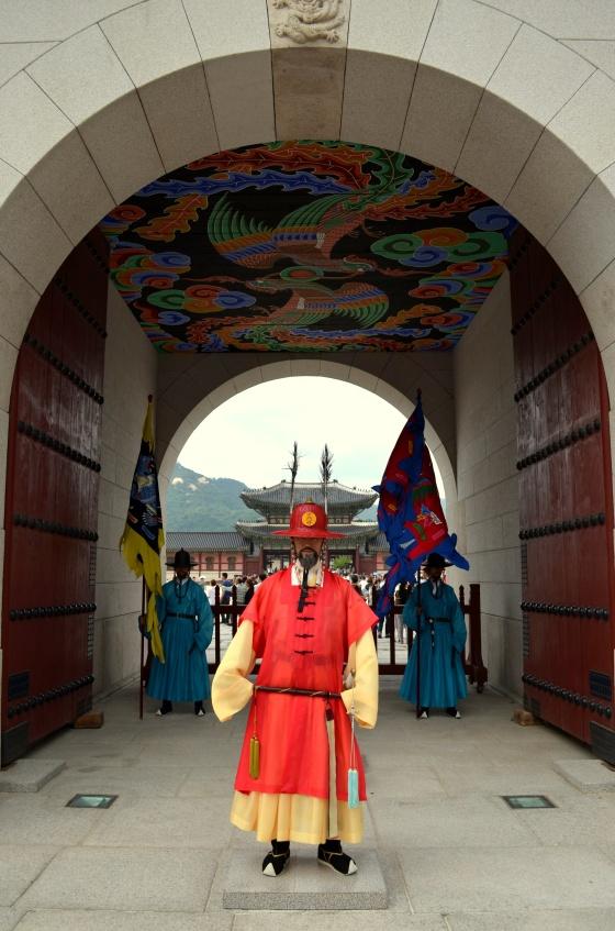 House of Haos Gwanghwamun Royal Guard Gyeongbokgung Palace Seoul Korea