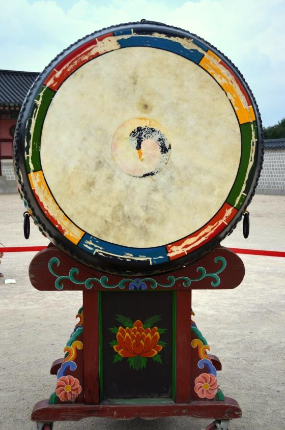 House of Haos Gyeongbokgung Palace Seoul Korea Drum