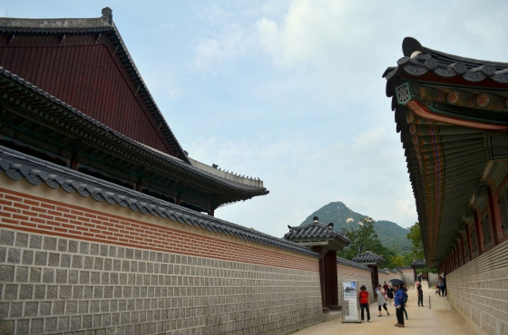 House of Haos Gyeongbokgung Palace Seoul Korea Walls