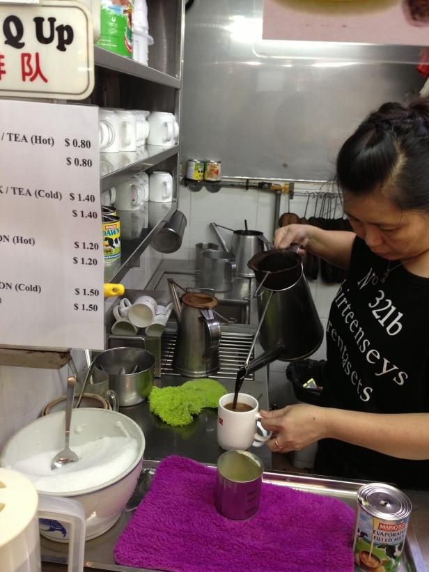House of Haos Hong Lim Food Court Singapore Milk Tea