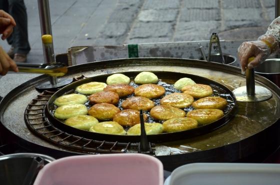 House of Haos Hotteok Insadong Seoul Korea Brown Sugar Peanut Sesame Donuts 2