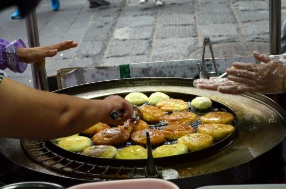 House of Haos Hotteok Insadong Seoul Korea Brown Sugar Peanut Sesame Donuts 4