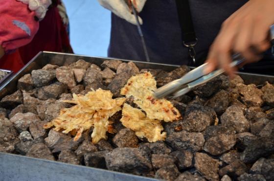 House of Haos Insadong Seoul Korea Dried Roasted Cuttlefish 2