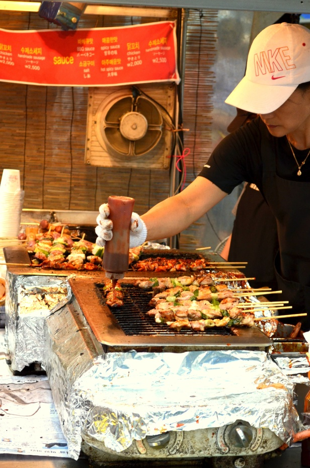 House of Haos Insadong Seoul Korea Skewers